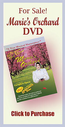 Marie's Orchard DVDs for Sale